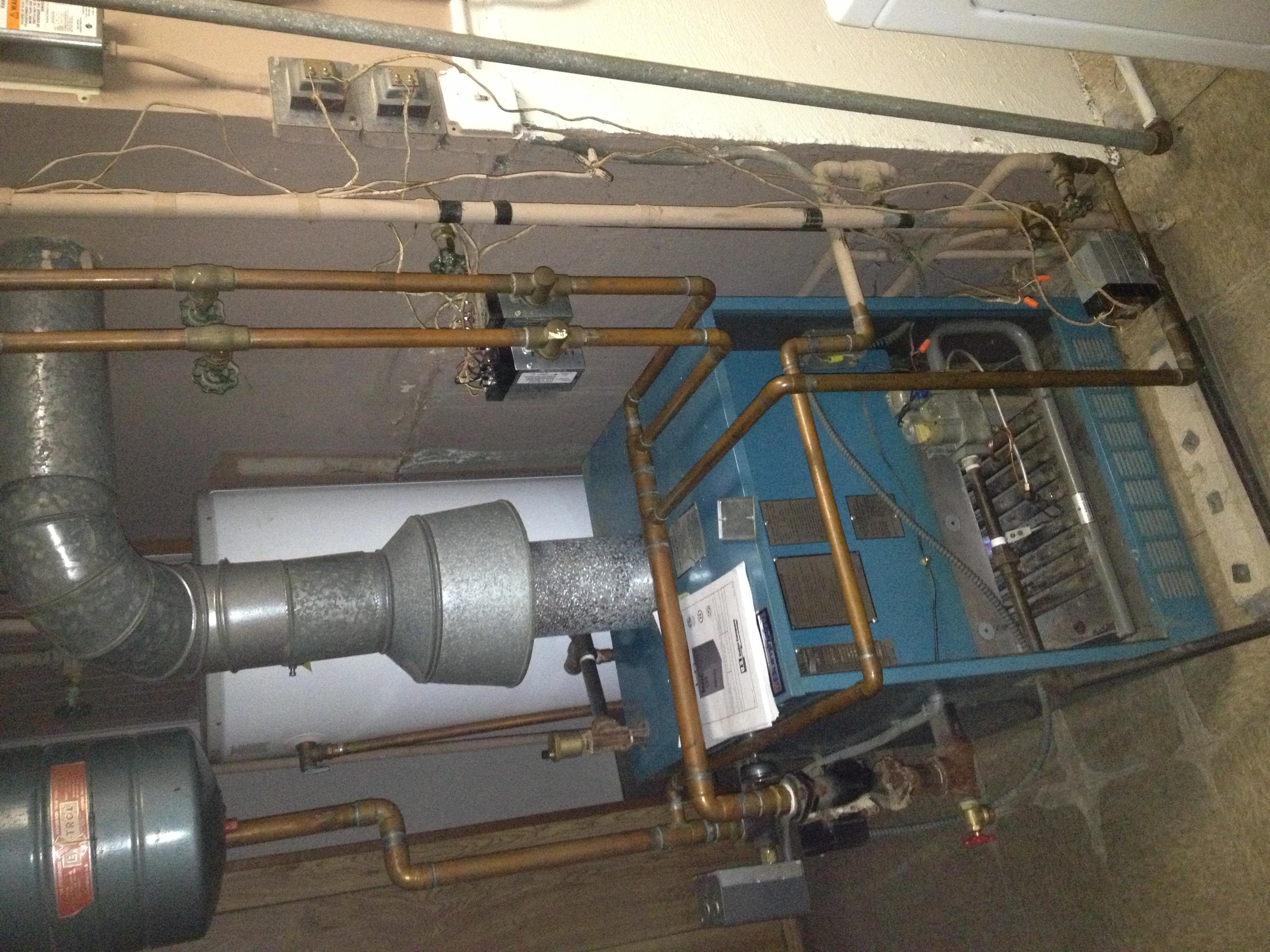 Burnham P 206 W 1983 Boiler NOT Firing No Vent Damper